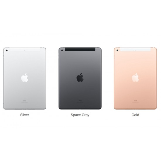 Таблет, Apple 10.2-inch iPad 7 Wi-Fi 128GB - Gold
