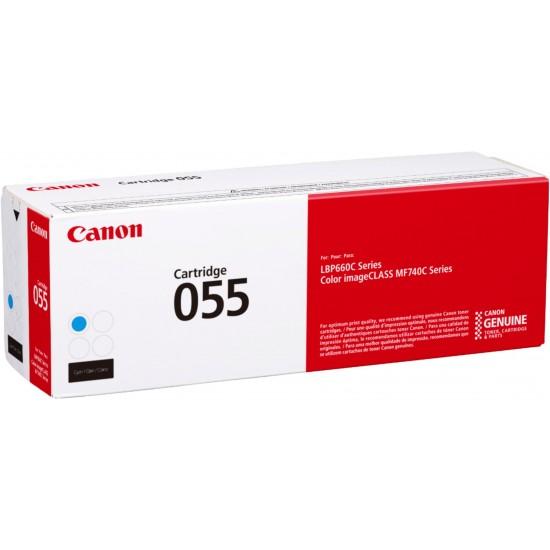 Оригинална тонер касета Canon CRG-055H Cyan