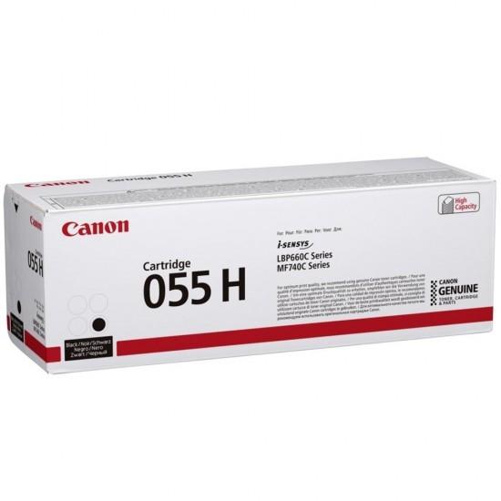 Оригинална тонер касета Canon CRG-055H Black