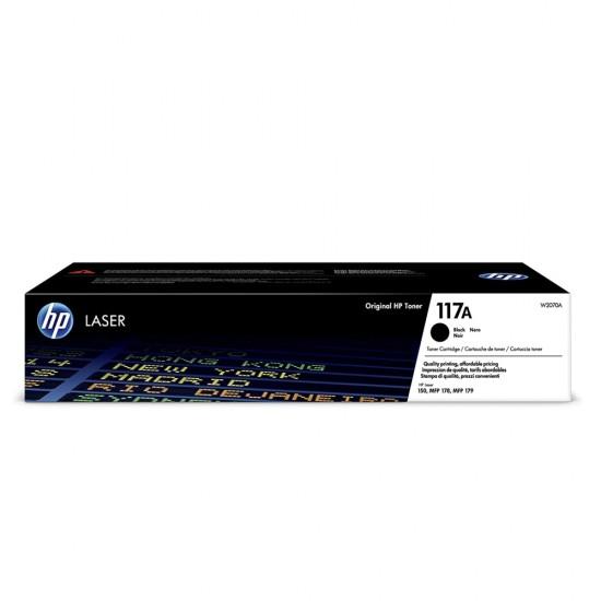 Оригинална тонер касета HP 117A W2070A Black