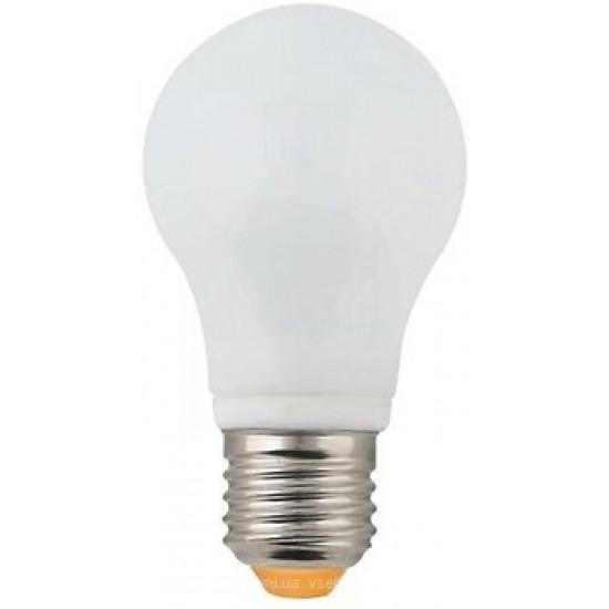 LED лампа 5W VITO GLOSTAR Е27 6400K бяла светлина, светодоидна лампа