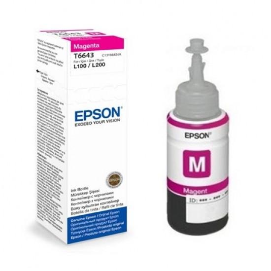 Мастило Epson T6643 Magenta ink bottle 70ml