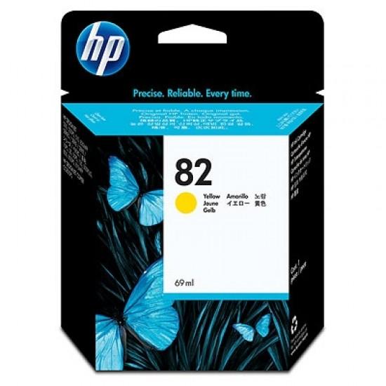 Мастило HP 82 Yellow