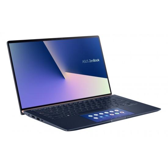 Лаптоп Asus ZenBook 14 UX434FQC-WB501R, ScreenPad,IntelCore i5-10210U, 1.6 GHz