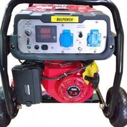 Генератор за ток 4.5 KW Bulpower монофазен бензин-газ