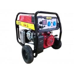 Генератор за ток 6.5 KW с вградена автоматика монофазен бензин-газ