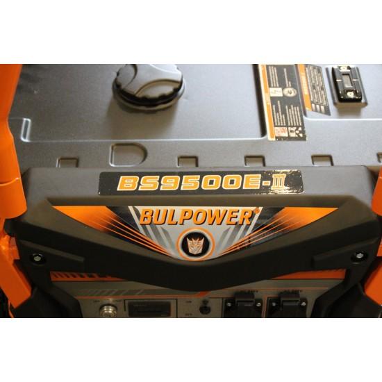 Генератор за ток 9.5 KW модел BS 9500 дигитален,монофазен