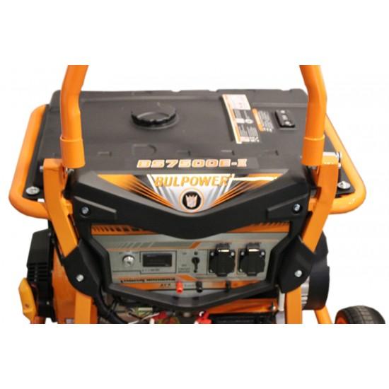 Генератор за ток 7.5 KW модел BS 7500E дигитален, професионален