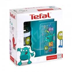 Кутия и бутилка Tefal Tritan Monster Комплект