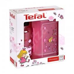 Кутия и бутилка Tefal Tritan Princess Комплект