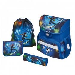 Раница с пълнеж Herlitz Loop Plus Soccer комплект