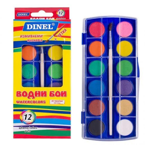 Бои водни ф23 ДИНЕЛ 12цвята