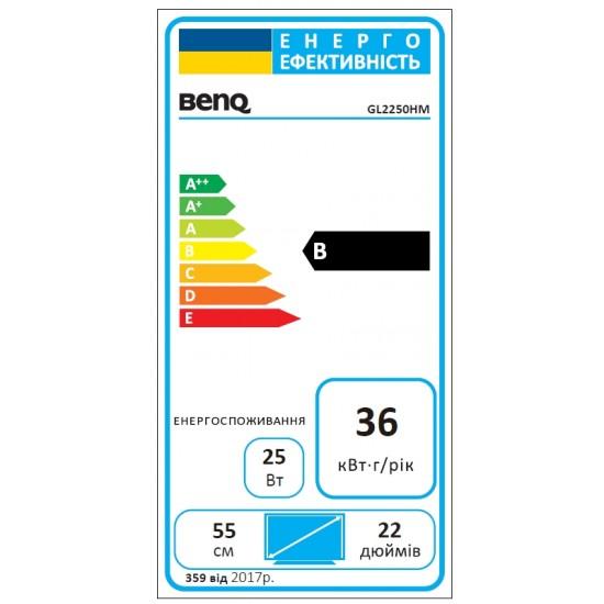 """Монитор BenQ GL2250, 21.5"""" TN LED"""