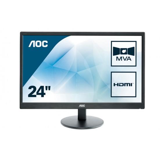 """Монитор AOC M2470SWH 23.6"""" Wide MVA LED"""