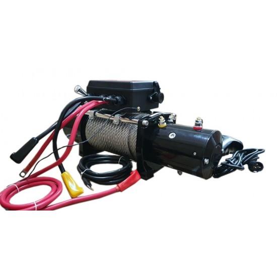 Електрическа лебедка – 12 V – 6136 КГ. / 13 500 LB WINCH/ТЕЛФЕРИ