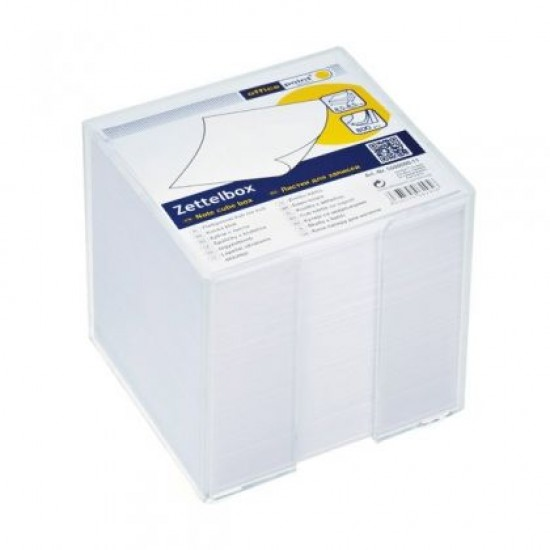 Хартиено кубче Office Point Незалепено, с поставка, 85x85 mm 800 л.