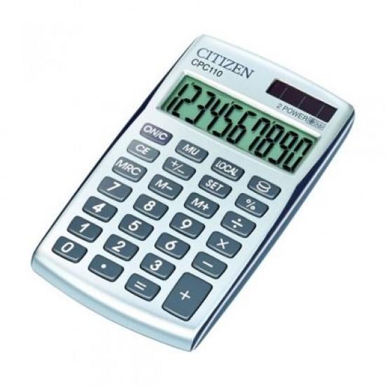 Калкулатор Citizen CPC 110WB Настолен, 10-разряден