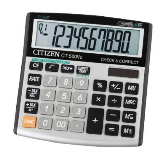 Калкулатор Citizen CT 500V II Настолен, 10-разряден