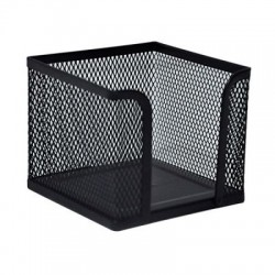 Поставка за кубче/листчета Метална, Черна Maped