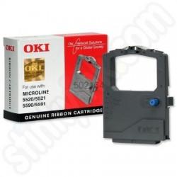 Лента за матричен принтер OKI 5520/182/320/390/3321/3390/5521/5590/5591 - 01126301