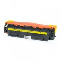 Съвместима тонер касета HP LJ CC532A Yellow
