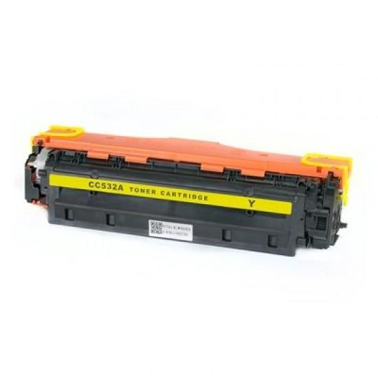Съвместима тонер касета HP LJ CP2020/2025/2320/Canon7200 304A CC532A Yellow