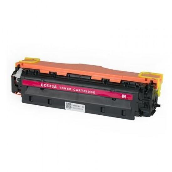 Съвместима тонер касета HP LJ CP2020/2025/2320/Canon7200 304A CC533A Magenta