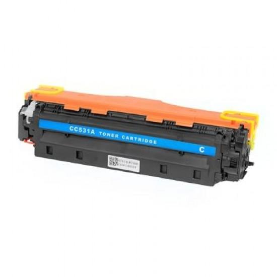 Съвместима тонер касета HP LJ CP2020/2025/2320/Canon7200304A CC531A CYAN