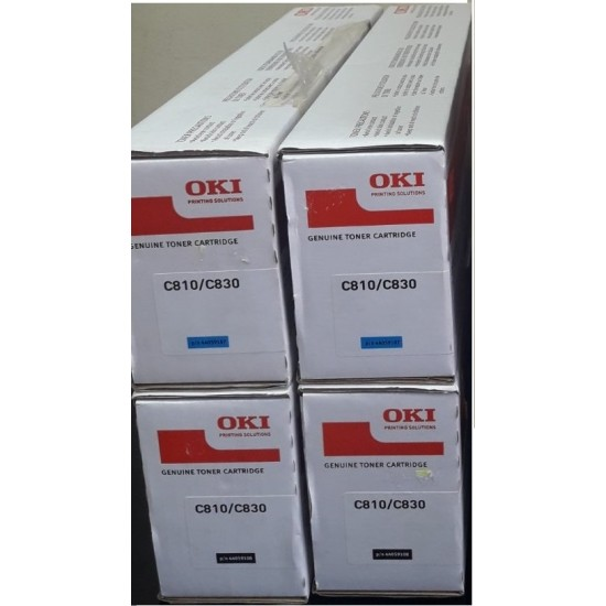 Тонер OKI C810/C830 Black 44059108