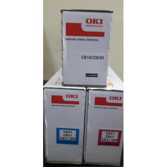Тонер OKI C831/C841/C831DM Magenta- 44844506 10k