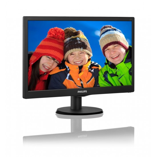 "Монитор Philips 203V5LSB26, 19.5"" Wide TN LED"