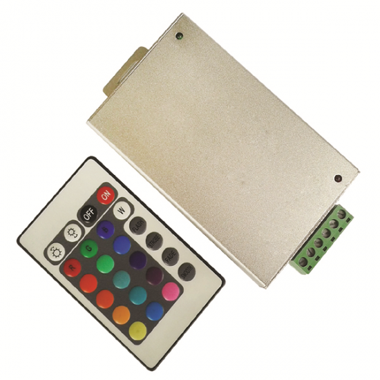 VITO IR CONTROLLER 12VDC 144W IP20 RGB