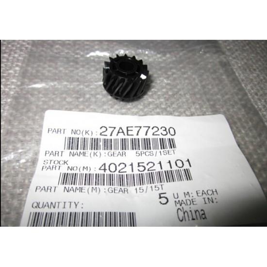 4021521101 / 27AE77230 Gear 15/15T for Konica Minolta bizhub 162