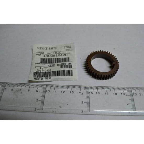 GEAR-40-HTR-ROL Toshiba 1710 4402810420