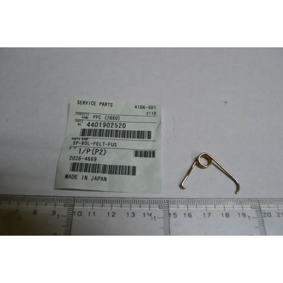 SPRING-ROLLER-FELT-FUSER Toshiba 5560 4401902520