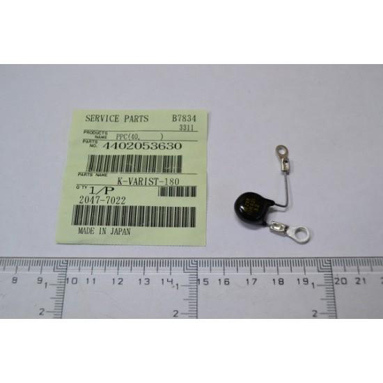 Thermo fuse K-Varistor Toshiba 2550 4402053630