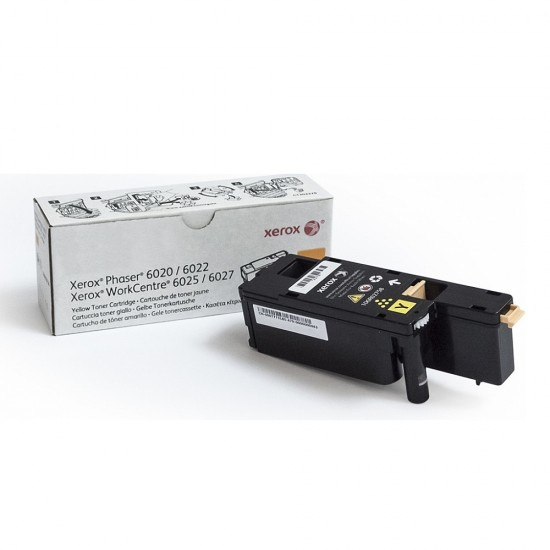 Xerox Yellow Toner, Phaser 6020/6022