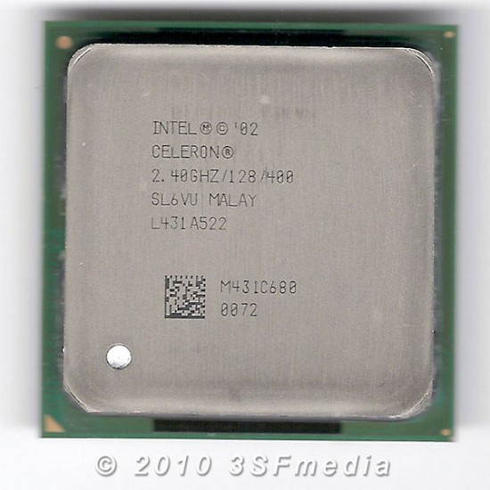 Intel Celeron 2.4 GHz  SL6VU