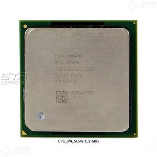 Intel Pentium 4 2.6 GHz  SL6WH